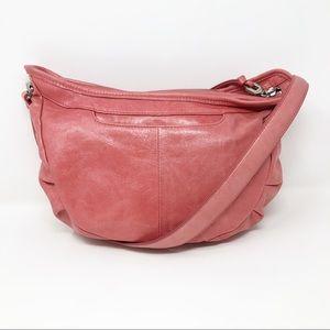HOBO Taffeta Leather Hobo Bag